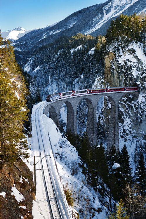 Landwasser Viaduct GR Switzerland