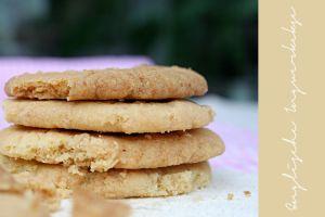Die veganen englischen Ingwer-Kekse sind krümmelig, knusprig und mit einer herrlichen Ingwernote im Abgang.