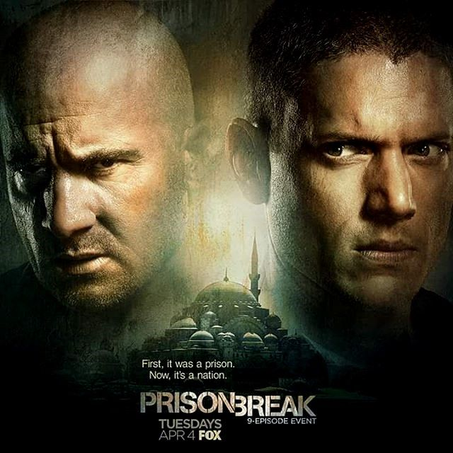 Nieuwe posters Prison Break Sequel