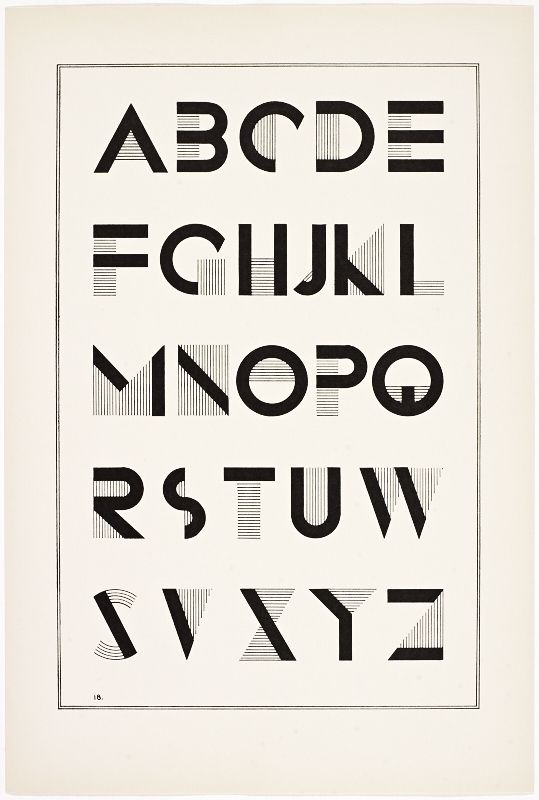Irene K. Ames, A portfolio of Alphabet Designs for artists, architects, designers & craftsmen, 1938. New York.