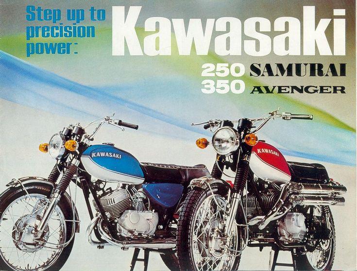 1968_Kawasaki 250 Samurai A1/A1SS+350 Avenger A7/A7SS 2-stroke brochure.GB_01
