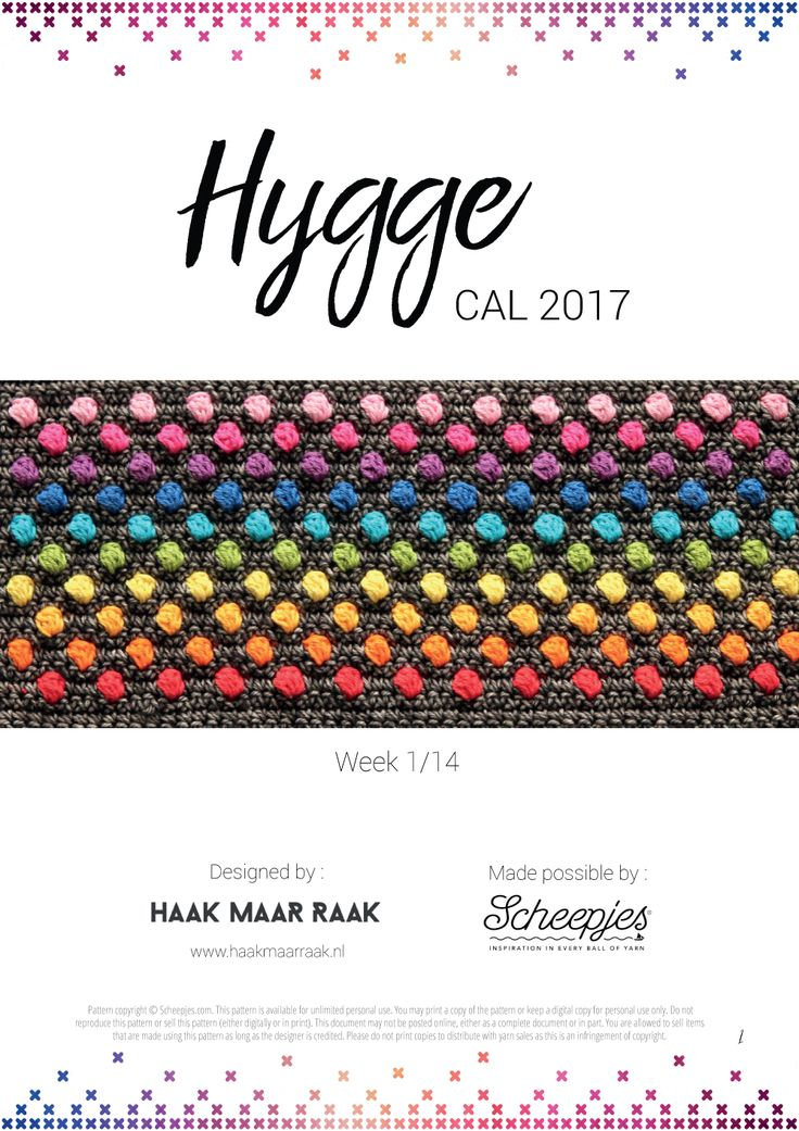 I'm so excited, today the Scheepjes 2017 Hygge CAL will start! If you haven't heard about the Hygge CAL yet, please check out this page which contains all information regarding the CAL. Really, I couldn't be more happier because the CAL has been so well received already, it's very exiting and humbling at the same …