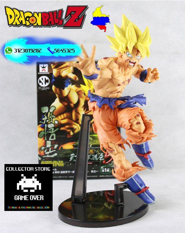 Goku ssj1 $40.000 Tamaño: 21cm de alto Domicilios en Bogotá  Envios a toda Colombia https://www.facebook.com/CollectorStoreGames/ https://www.instagram.com/figuras_collectorstore/