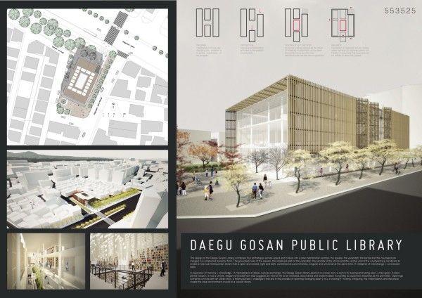 [A3N] : Daegu Gosan Public Library \ Patrick O'Carrigan + Partners