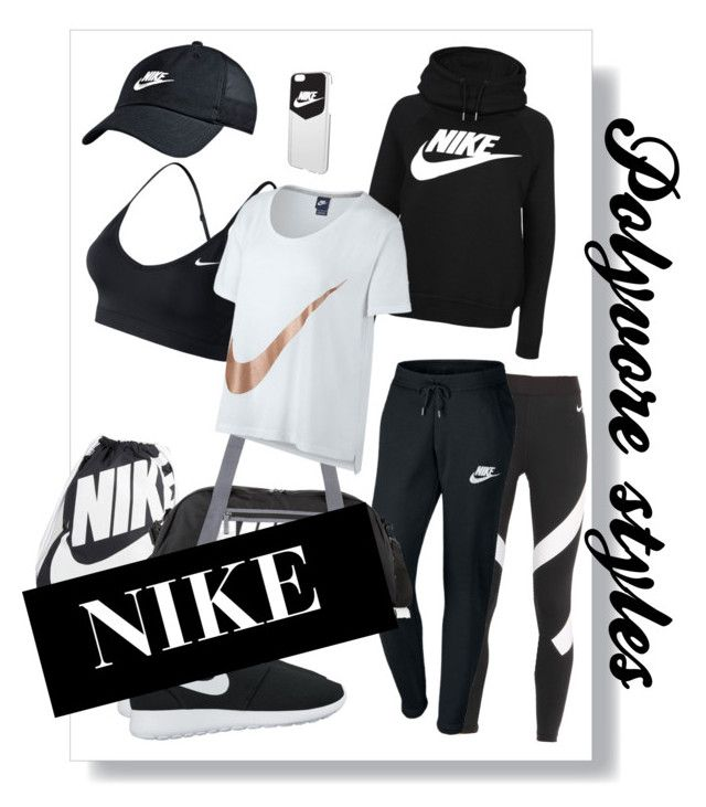 """""""Polyvore styles, NIKE"""" by russell-mina on Polyvore featuring NIKE"""