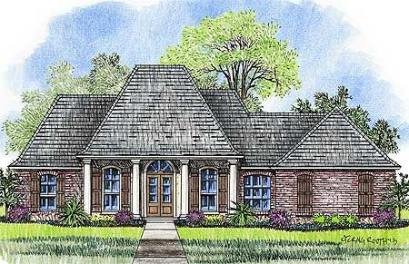 139 best acadian style house plans images on pinterest for Small acadian house plans