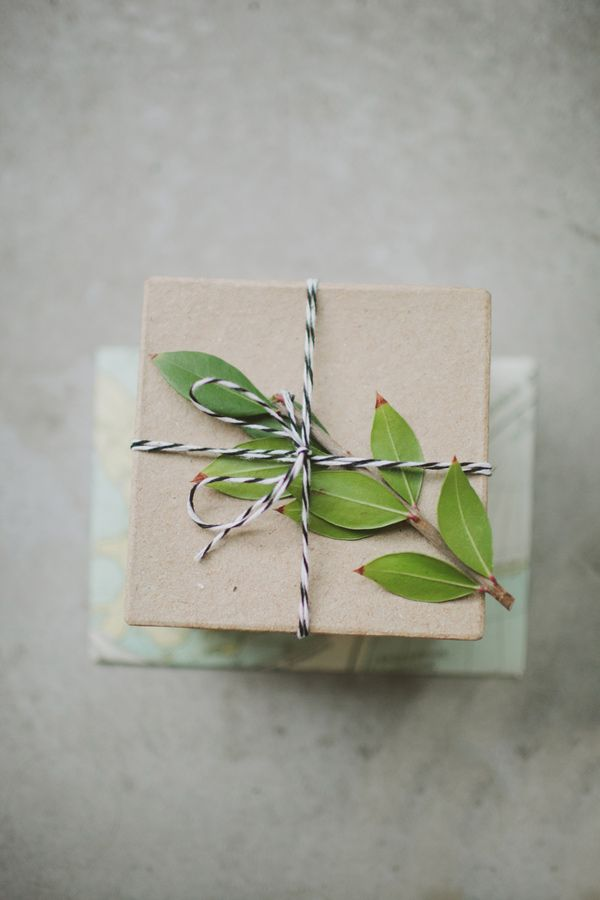 bakers twine + greens // photo by Tessa J