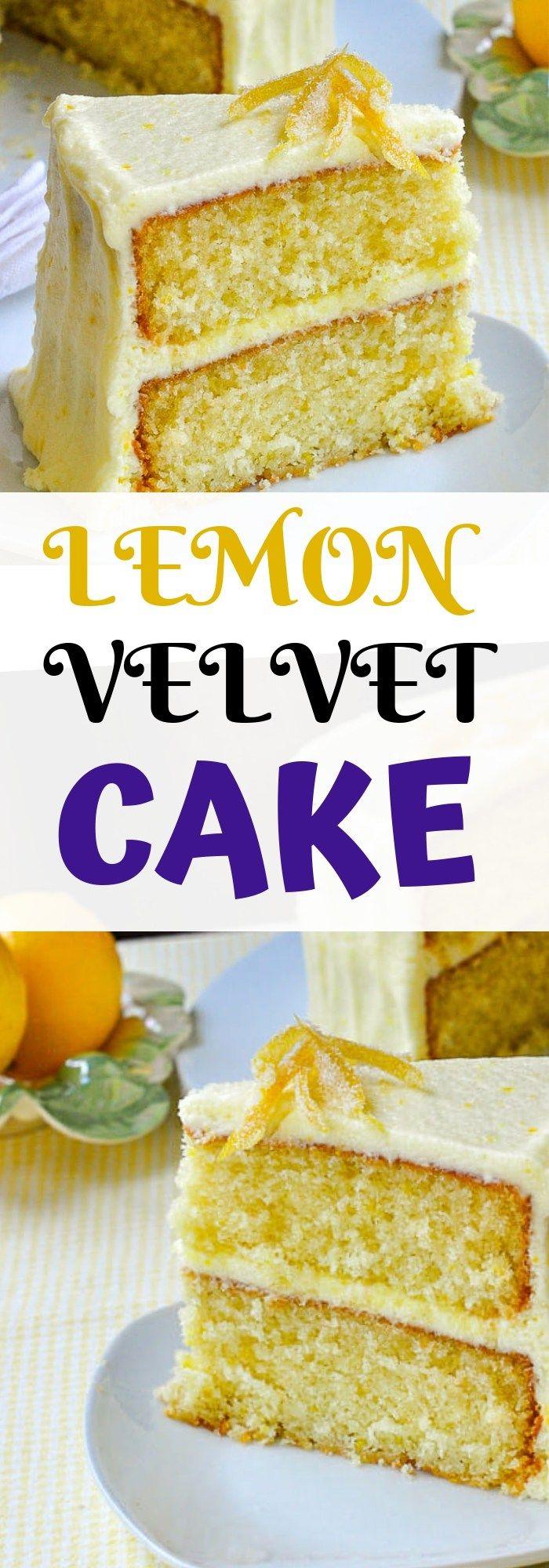 Entwickelt aus einem hervorragenden Rezept für Red Velvet Cake, ist dieser Zitronenkuchen ein …