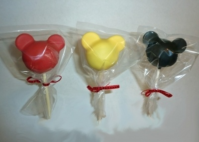 Mickey cake pops By JennyLane on CakeCentral.com