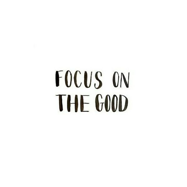 Focus on the good part of life - www.instawall.nl