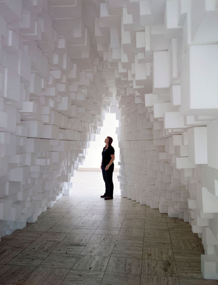 Art Contemporain Installation Tobias Putrih http://www.putrih.net/