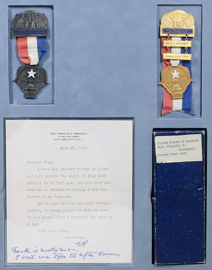 Books, Manuscripts, and Maps | Eleanor Roosevelt - Personal Badges for the 1960 Democratic National Convention - The Curator's Eye