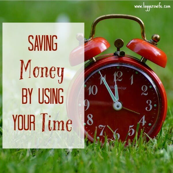 Saving money by using your time can be one of the best ways you can stretch a tight budget.