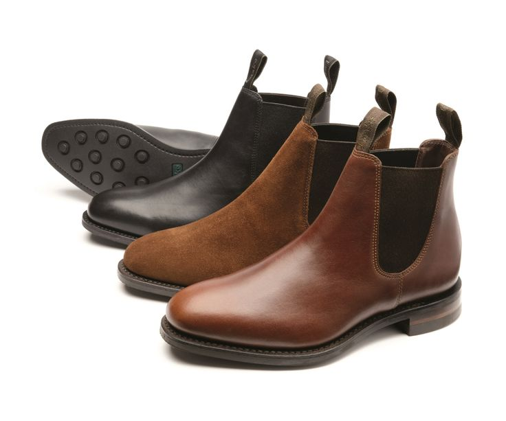 Chatterley'+is+a+ladies+Chelsea+boot+made+from+either+black+calf,+or+brown+waxy+leather,+with+a+rubber+studded+welted+sole.+Chatterley+is+made+in+England.