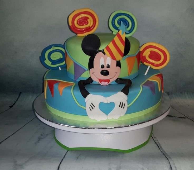 Mickey Mouse cake - Cake by Bianca