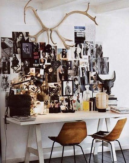 . desk .