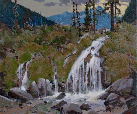 Fairy Falls, Yoho Park by Robert Genn