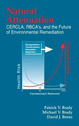 Natural Attenuation: CERCLA RBCAs and the Future of Environmental Remediation; Patrick V. Brady Michael V. Brady David J. Borns; Hardback