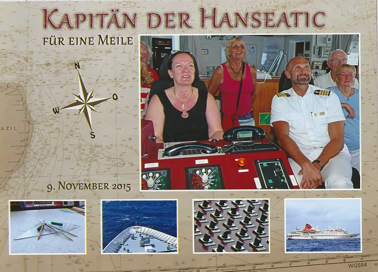 #MS Hanseatic #Kapitän #1Seemeile