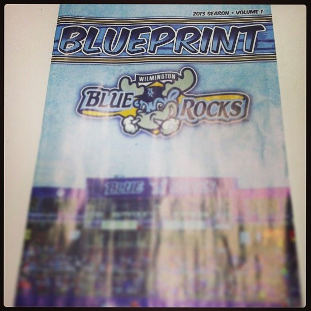Volume 1 of the Blue Print is in!! make sure you get yours at Frawley Stadium!