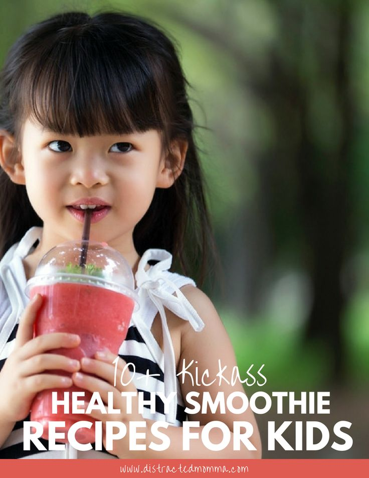 Discover the best kickass healthy smoothie recipes for kids!