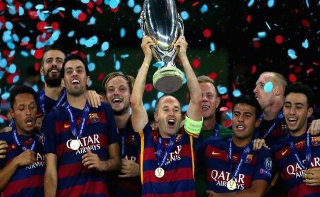 FC Barcelona Campeón de Supercopa de Europa 2015