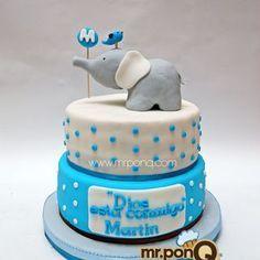 torta de cumple para teo