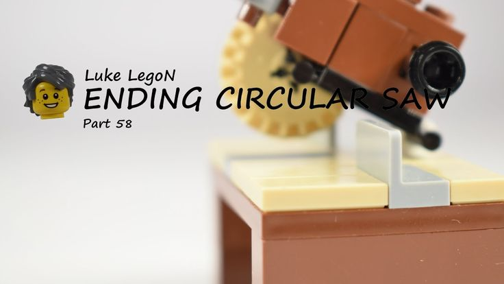 LEGO Edging Circulae saw