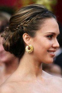 Peinados De Famosas Para Invitadas Pelo Pinterest