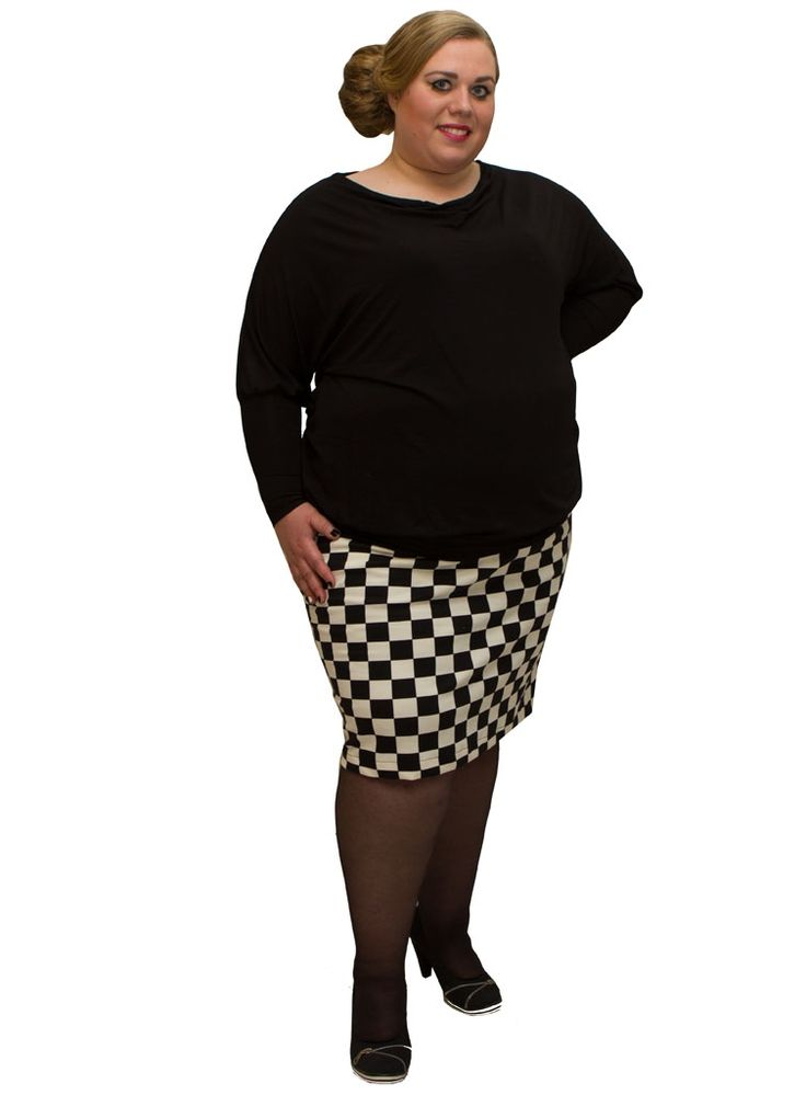 Plus size clothing | Plus size fashion for women | Amamiko #Plussize #black and #white