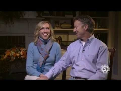 How Rand Paul 'Tricks' His Wife Into Letting Him Run for Office - YouTube