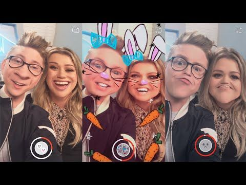 'The Tyler Oakley Show': Snapchat Challenge with Kelly Clarkson