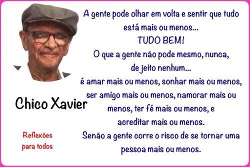 Mensagens De Chico Xavier Para Facebook: 87 Melhores Imagens Sobre Mensagens De Chico Xavier No
