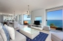 Relax in your beautiful lounge and take in the glorious ocean views at White Cliffs Penthouse | Clifton