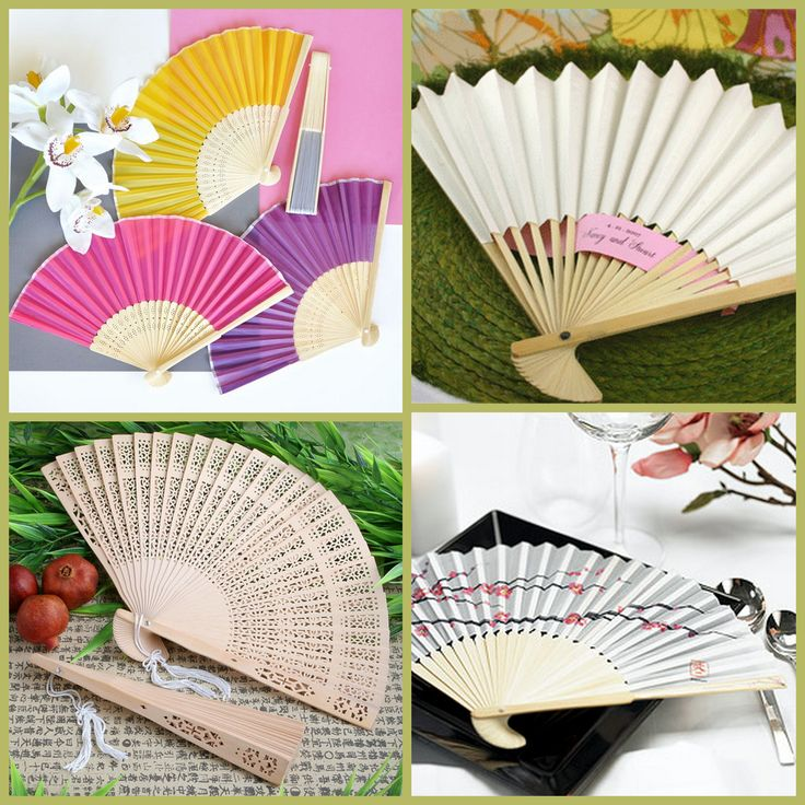 Hand Fan Party Favors for Bridal Shower from HotRef.com