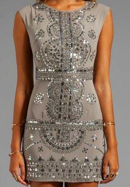 Very Nice Dress With Shiny and Stylish Pattern
