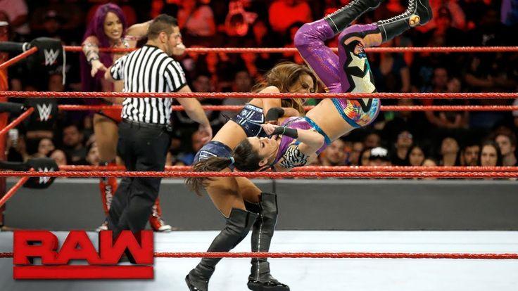 Sasha Banks & Bayley vs. Nia Jax & Emma: Raw, Sept. 25, 2017  ||  Longtime frien...