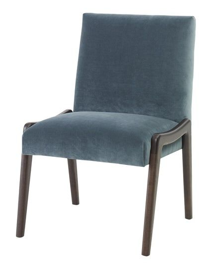 Zebra Side Chair  Contemporary, MidCentury  Modern, Transitional, Leather, Upholstery  Fabric, Wood, Dining Chair by Julian Chichester