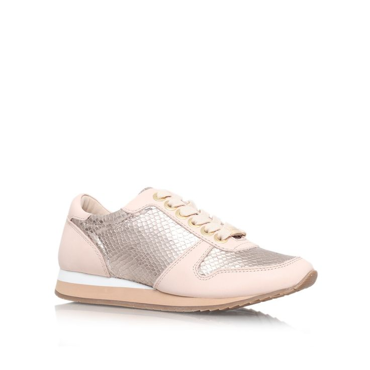 libby metallic low top trainers from Carvela Kurt Geiger