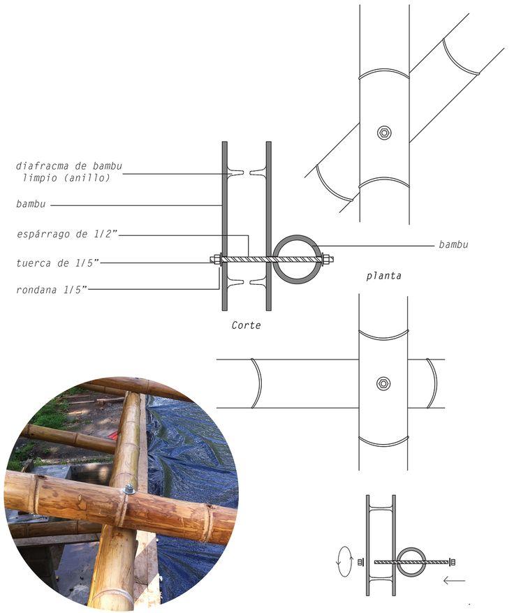 Galería - México DF: taller de construcción con bambú levanta 22 pabellones experimentales en la UNAM - 58