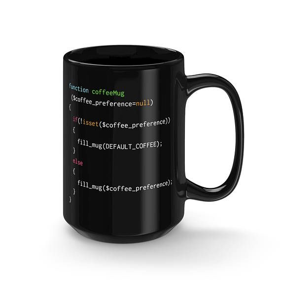 The perfect mug for PHP coders with an affinity for latte coffee #php #programminghumor #gifts #coding #giftideas #giftsforher #giftsforhim