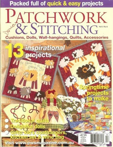 PATCHWORK & STITCHING N 06 - Sueli Rodrigues - Álbumes web de Picasa
