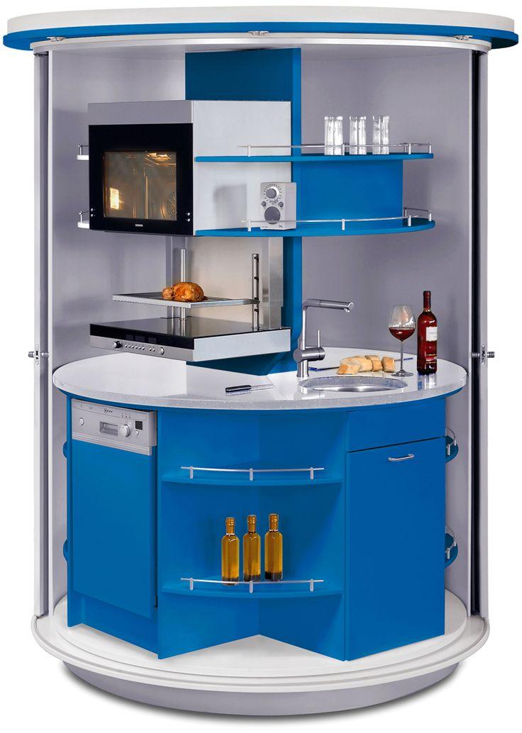 Futuristic Smart Kitchen Design