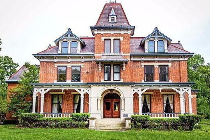 438 best second empire victorian homes images on pinterest for Second empire homes for sale