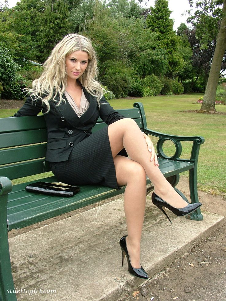 In The Park  Femme Lgante, Femme, Superbe Blonde-6015