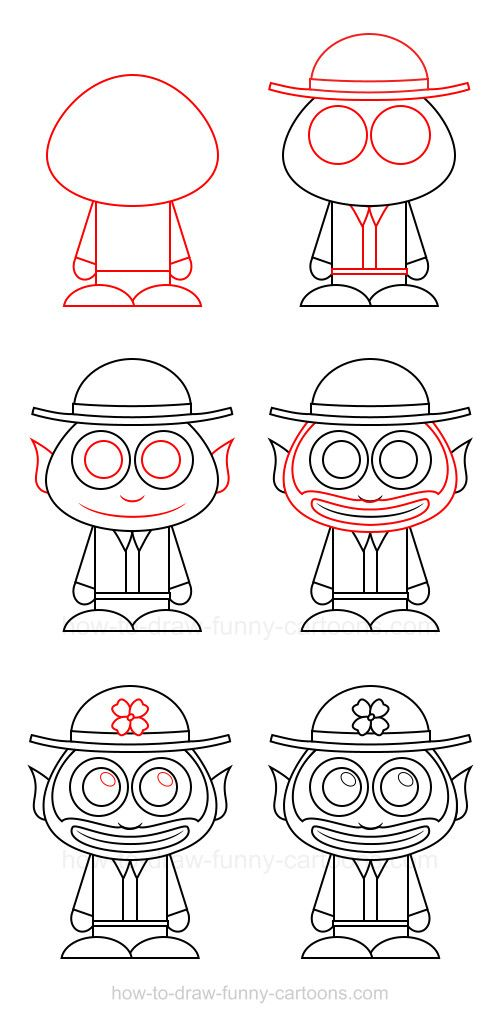 61 best adorable characters images on pinterest how to draw how to draw a leprechaun ccuart Choice Image