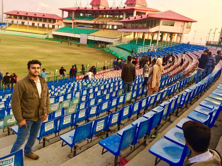 Himachal Pradesh Cricket Association Stadium, Dharamshala, Himachal Pradesh, College Industrial visit