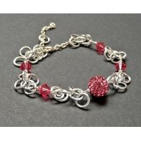 Ladies Forever charmed pink Admiration Bracelet £24