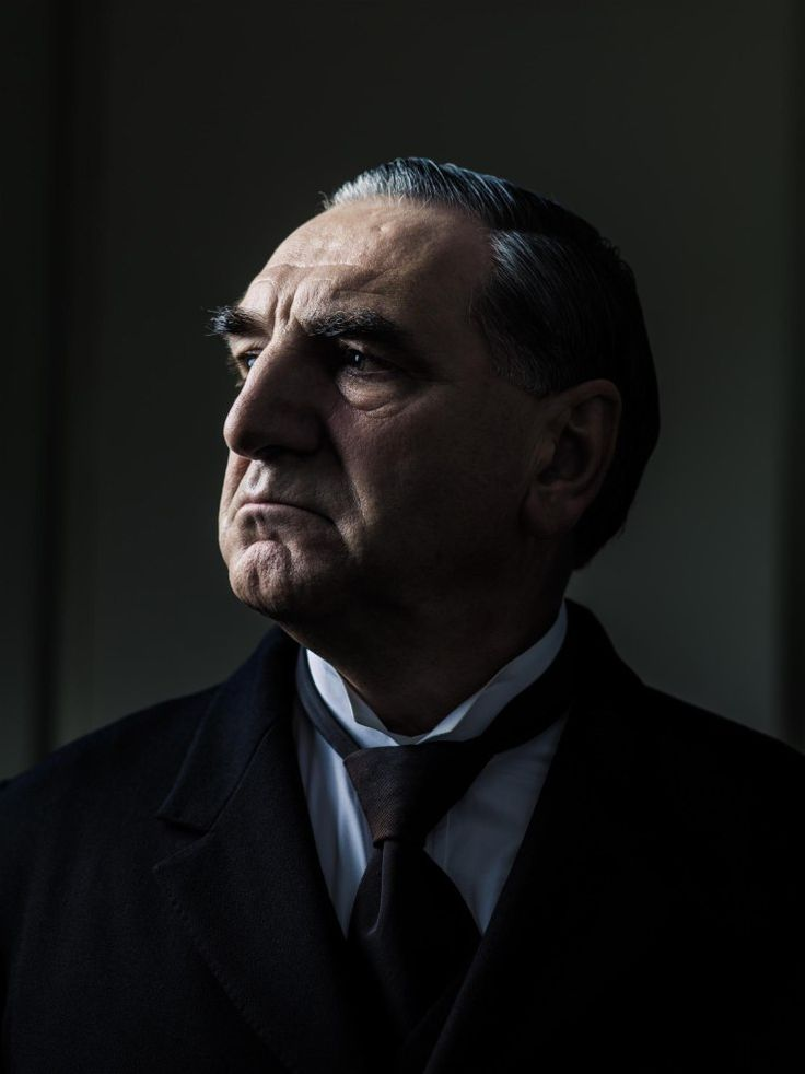 """Jim Carter as Carson on """"Downton Abbey."""" Publicity photo by Jim Fiscus.   ..rh"""