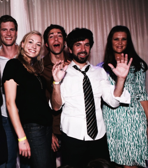 The super glamorous cast of #Chuck